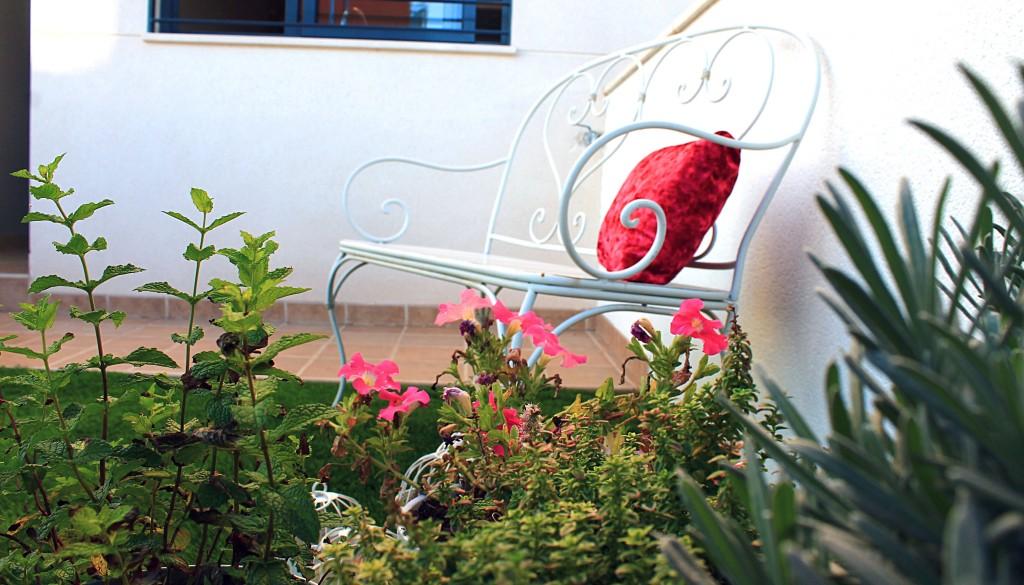 La casa de Miguel-jardín